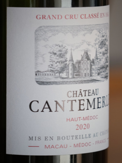 Laure Canu, Château Cantemerle General Manager; presents the vintage 2020