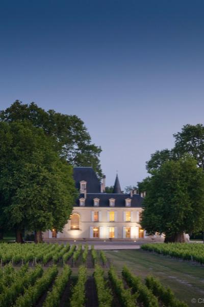 Château Cantemerle (vue de nuit)